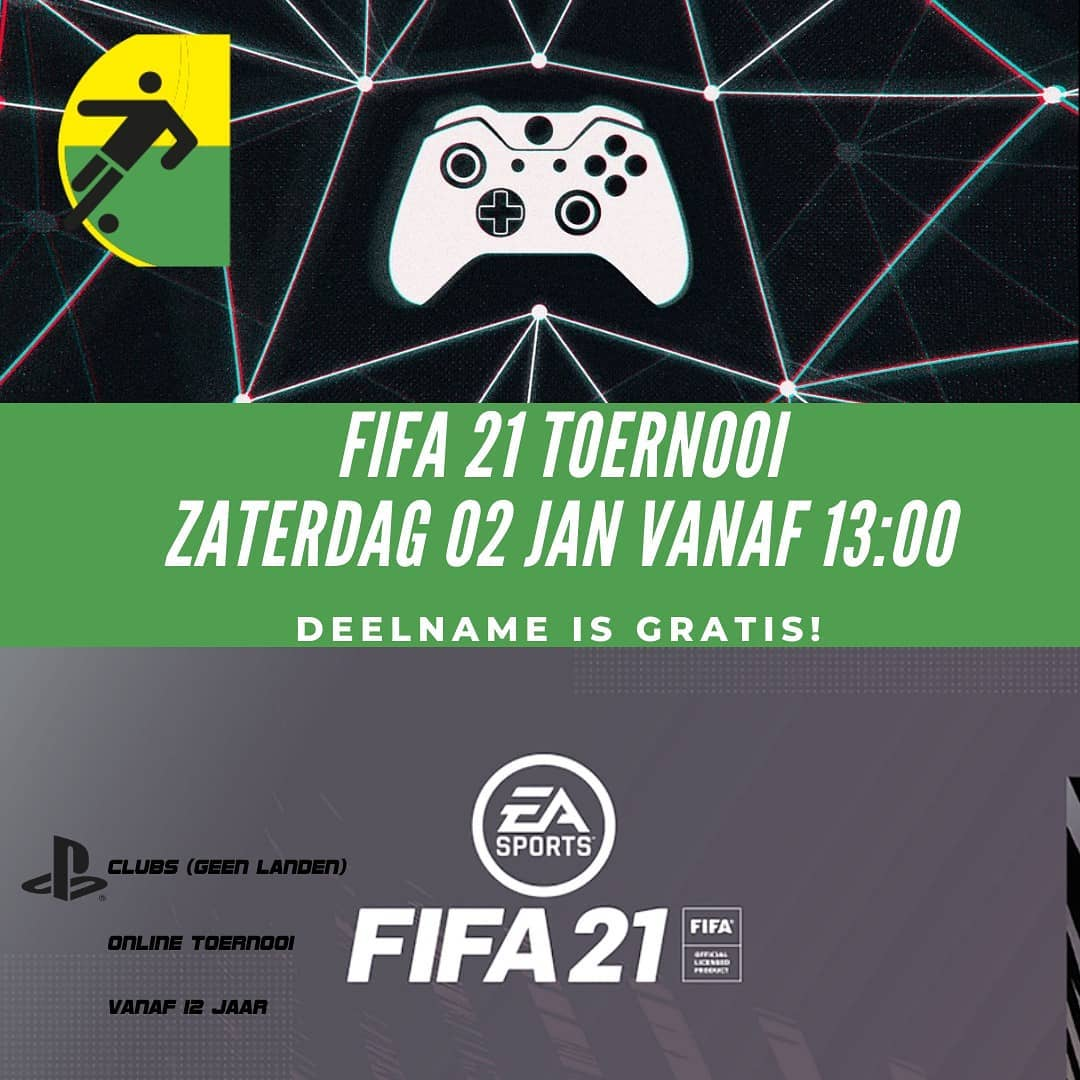 ONLINE FIFA 21 TOERNOOI