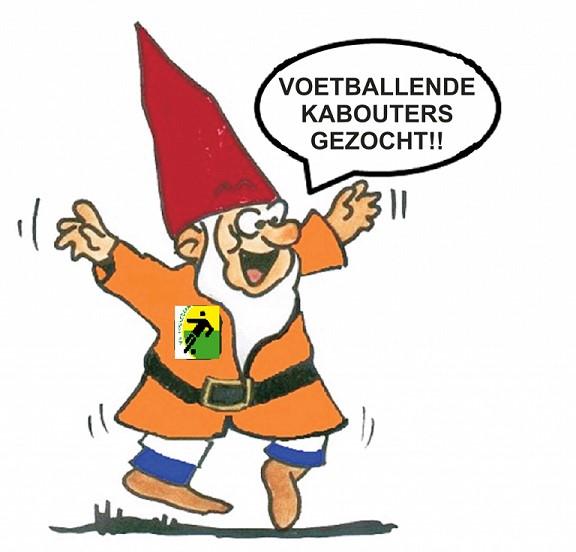 Voetballende kabouters gezocht!